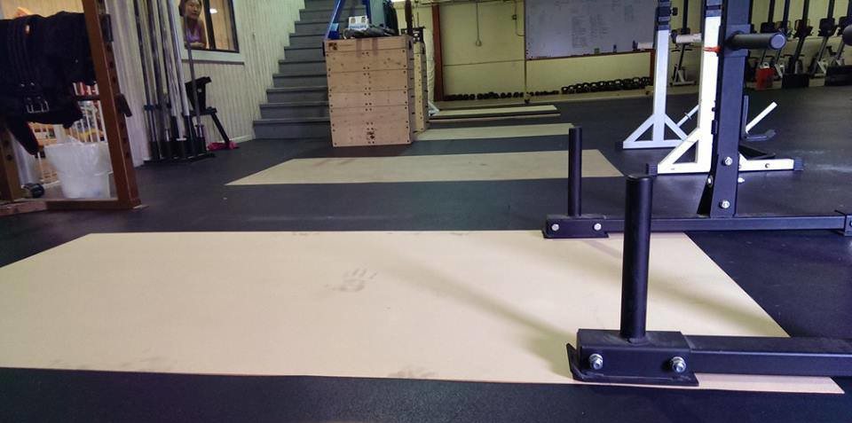 Diy Weightlifting Platform Intrepid Athletics Crossfit